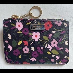 Kate spade small coin purse key chain wallet
